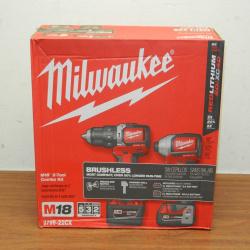 Milwaukee 2799-22cx m18. шуруповерт и импульсный гайковерт.
