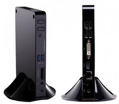 Модернизируемые неттопы foxconn a3550 и a3700 на базе процессоров amd