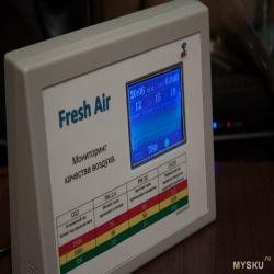 Монитор качества воздуха в помещении