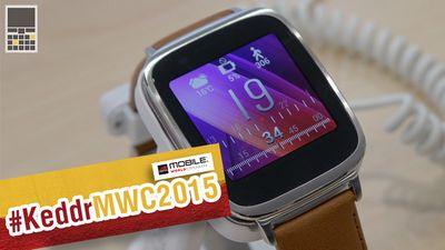 Mwc 2015. видео. часы asus zenwatch