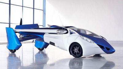На ebay продаётся аэромобиль с вертикальным взлётом (5 фото + видео)
