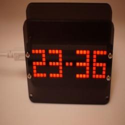 Набор для самостоятельной сборки матричных часов на ds3231