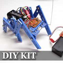 Набор для самостоятельной сборки робота-паука.гексапод