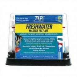 Набор фирмы api для проверки параметров воды в аквариумах и системах аква и гидро - поники