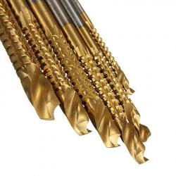 Набор фрезерных сверл 3/4/5/6/6,5/8 мм. для дерева и металла