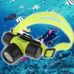 Налобный подводный фонарь