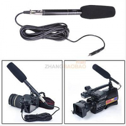 Направленный микрофон em-320e длинной 28 сантиметров. и его модификация на капсюли panasonic wm-61a.