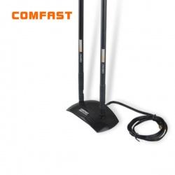 New 20dbi 2.4 ghz 802.11b/g omni wireless wifi antenna rp-sma magnet black comfast cf-ant2410da/антенна wifi comfast cf-ant2410da