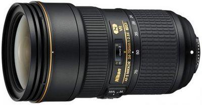 Nikon отзывает небольшое количество объективов af-s nikkor 24-70mm f/2.8e ed vr