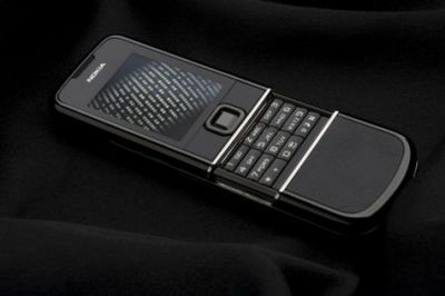 Nokia 8800 sapphire arte black — роскошь для тёмных