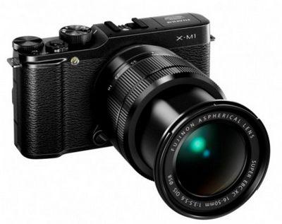 Новая системная камера fujifilm x-m1