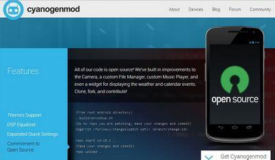 Нововведения в cyanogenmod