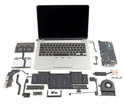 Новыe macbook pro признаны непригодными для ремонта и апгрейда