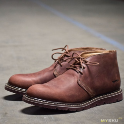 Обзор мужских ботинок. маруновые черевички от золотой лисички