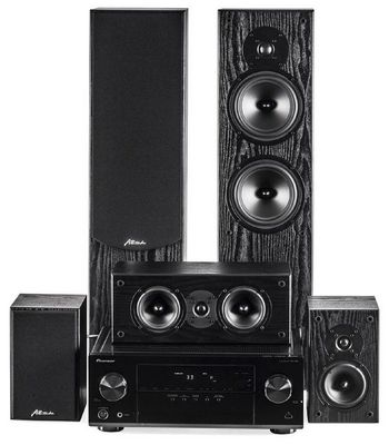 Обзор набора для домашнего кинотеатра -- attitude echo и pioneer vsx-329: первый шаг в мир хорошего звука