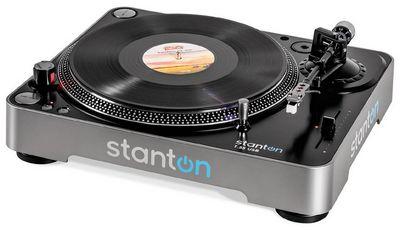 Обзор проигрывателя виниловых дисков stanton t.55 usb: не слушать, а играть