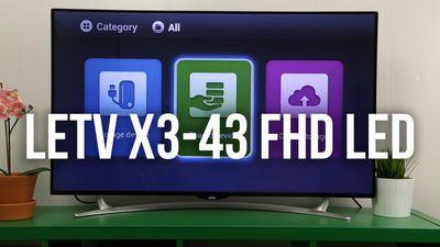 Обзор телевизора letv x3-43 fhd led smart tv