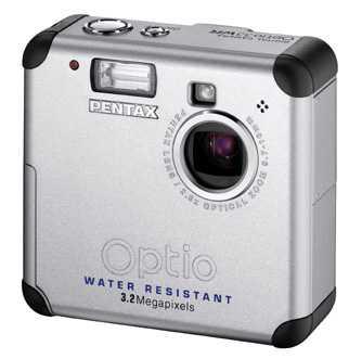 Optio33wr – первая влагозащищенная цифровая камера pentax