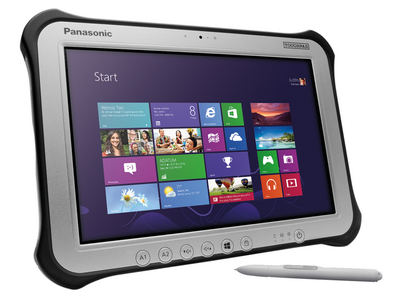 Panasonic toughpad 4k с 20-дюймовым дисплеем получил новый процессор