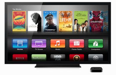 Пара дизайнерских концептов apple tv