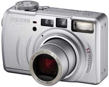 Pentax представил еще одну цифровую камеру