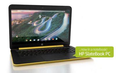 Первый ноутбук на базе android – hp slatebook 14