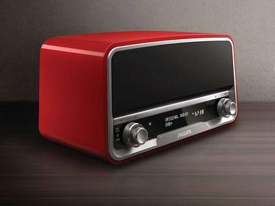 Philips ort7500/10: радиоприёмник в ретро-стиле