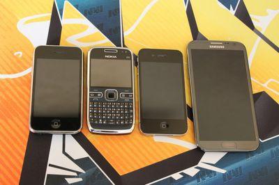 Пять лет. четыре телефона. одна история