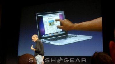 Появится ли macbook с сенсорным экраном?