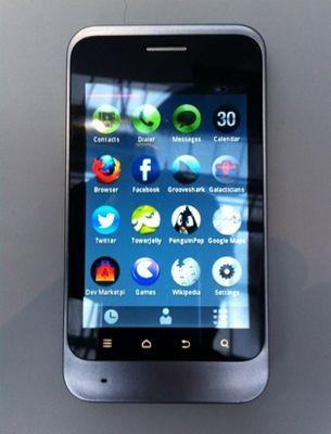 Показан первый смартфон на firefox os: «он лучше и дешевле android». видео