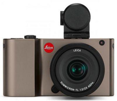 Представлена беззеркальная камера leica tl