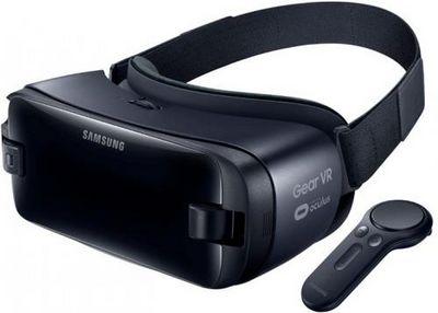 Представлена гарнитура виртуальной реальности samsung gear vr with controller