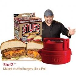 Пресс для изготовления гигантских гамбургеров с начинкой