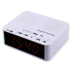 Радиобудильник mx-017 с bluetooth, microsd и встроенным аккумулятором