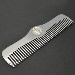 Расчески metal comb works: mercury, sailor 22 и skull bones - black out edition