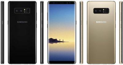 Рассекречены все характеристики гигантского смартфона samsung galaxy note 8