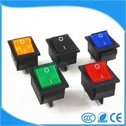 Разноцветные выключатели
