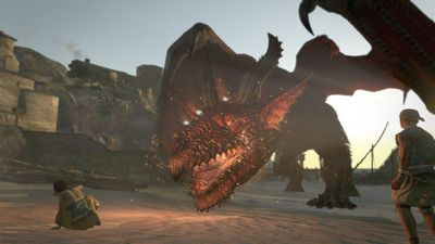 Рецензия на dragon's dogma: dark arisen. незваный гость