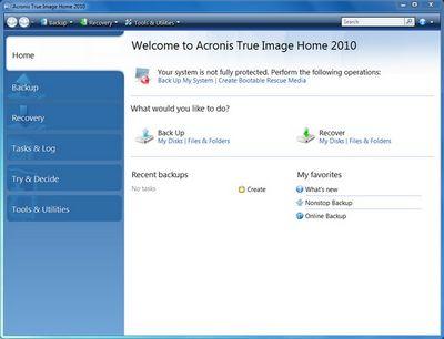 Резервирование и восстановление данных: обзор трёх решений для windows 7