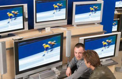 Россия: продажи жк-телевизоров + 200%