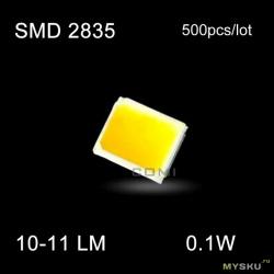 Самодельный светильник на smd 2835