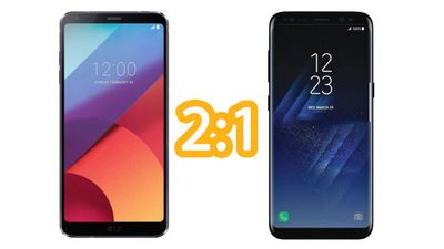 Samsung galaxy s8 спасет lg g6?