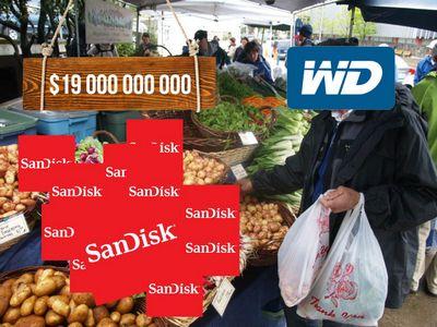 Сделка на 19 млрд долларов: western digital покупает sandisk