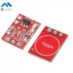 Сенсорный выключатель на модуле ttp223