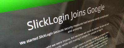 Slicklogin — очередное приобретение компании google