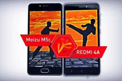 Смарт баттл: сравнение смартфонов xiaomi redmi 4a и meizu m5c