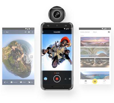 Smarttech: insta360 air — панорамная мини-камера для смартфона всего за $100