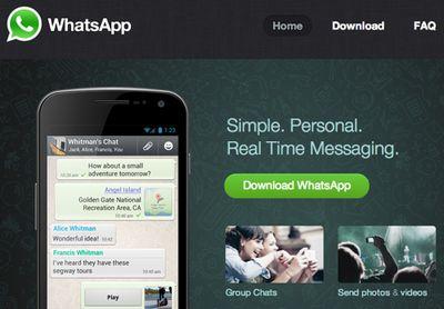 «Sms-киллер» whatsapp вводит абонентскую плату