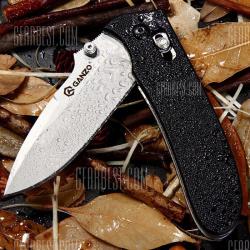 Сравнение и замер твердости: нож ganzo g704 старый vs современный