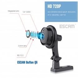 Сравнительный обзор двух ip-камер: escam q6 и escam qf001